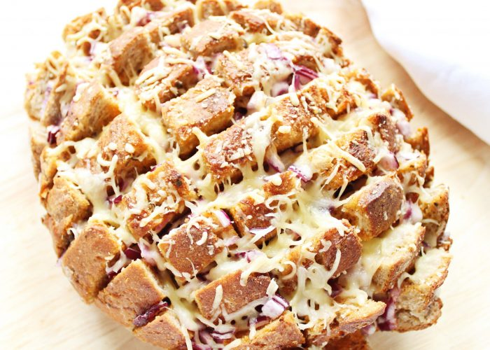Brood | plukbrood met Italiaanse kruidenboter