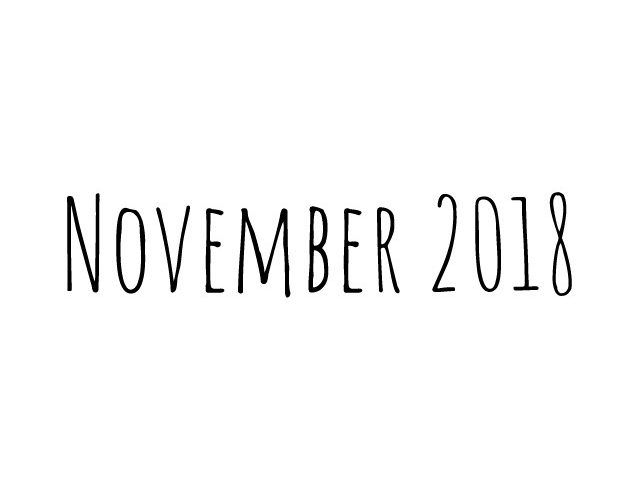 Blog | maand november 2018