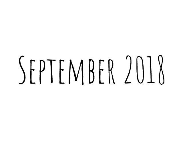 Blog | maand september 2018