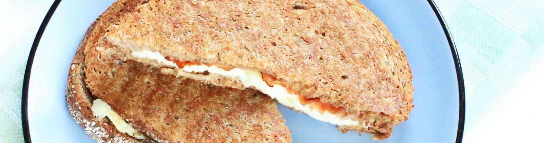 Brood | tosti met brie en bacon