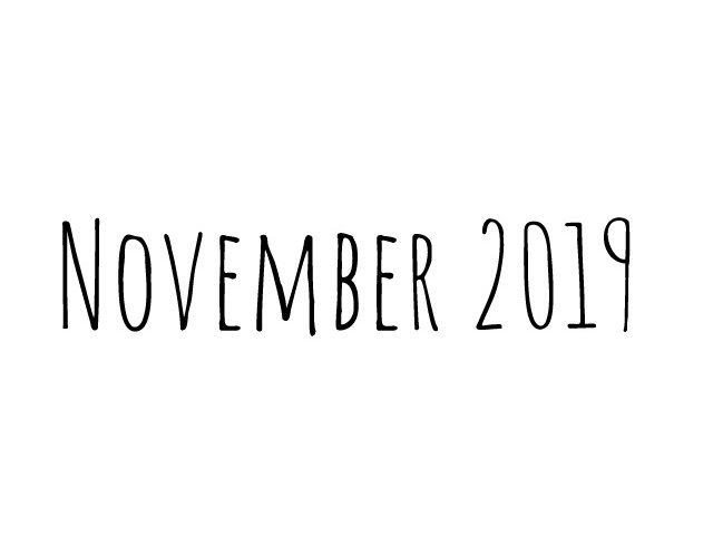 Blog | maand november 2019