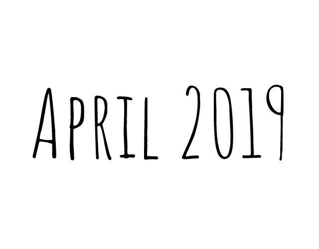 Blog | maand april 2019