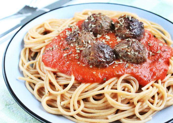 Pasta | spaghetti met gehaktballetjes
