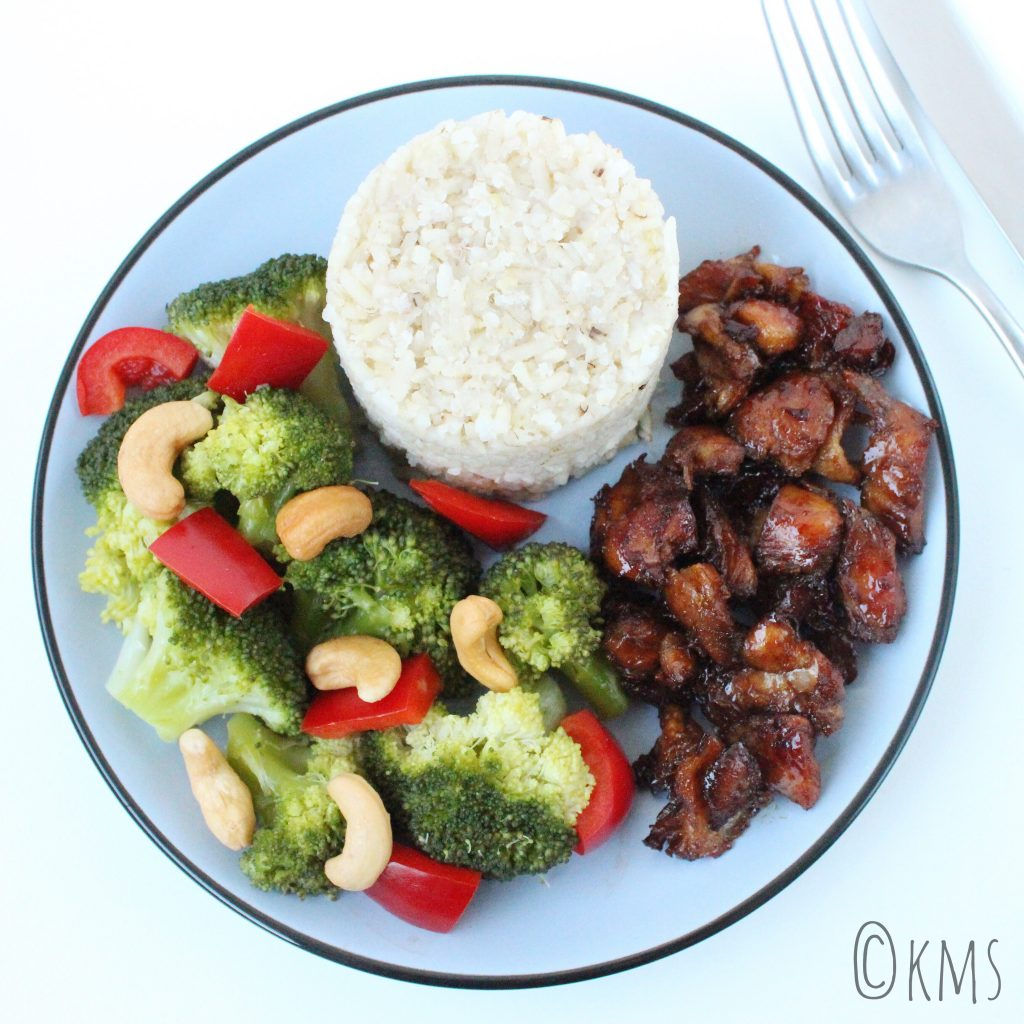 Avondeten | rijst met kip en broccoli