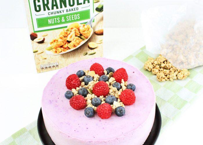 kwarktaart met granolabodem