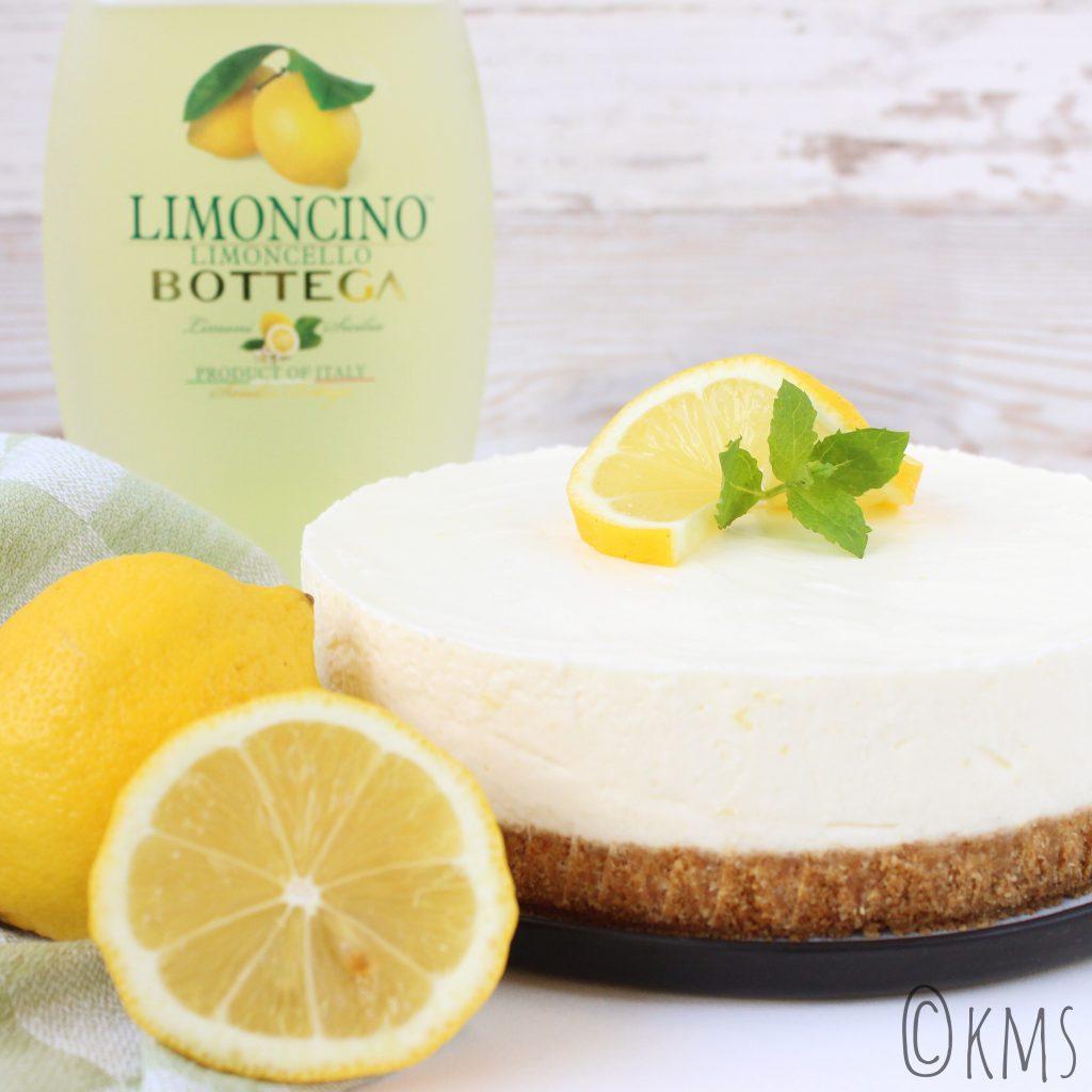 Zoete hapjes | no bake limoncello cheesecake