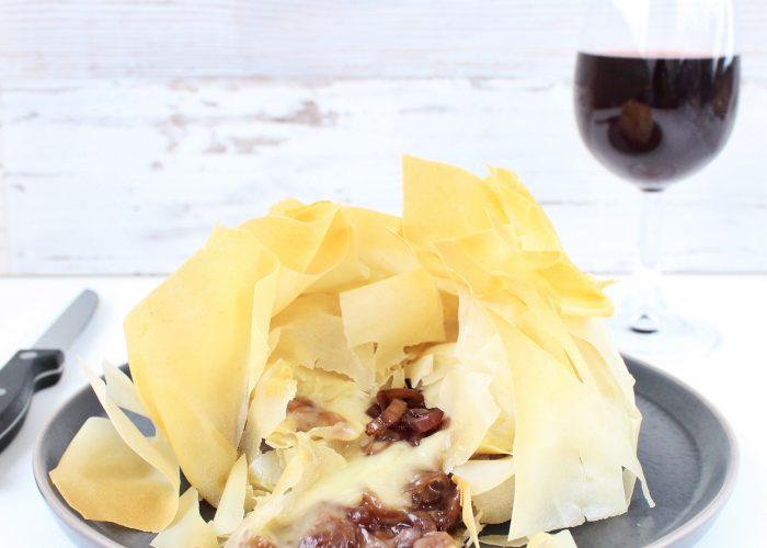 Hartige hapjes | camembert in filodeeg