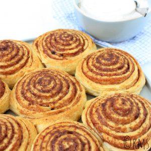 Zoete hapjes   cinnamon rolls