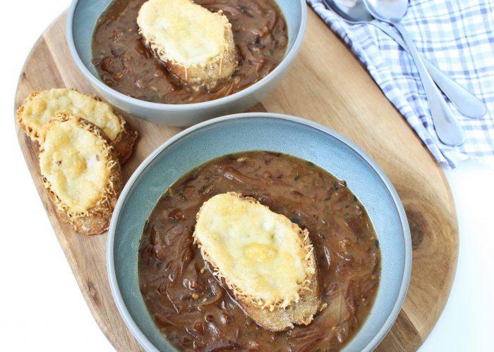 Soep | uiensoep met Gruyère kaas