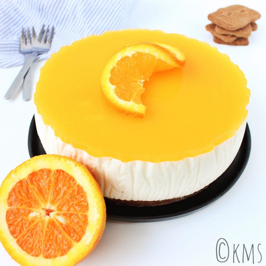 Zoete hapjes | kwarktaart met sinaasappel speculaas en Licor 43