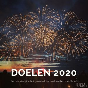Blog | doelen voor het jaar 2020