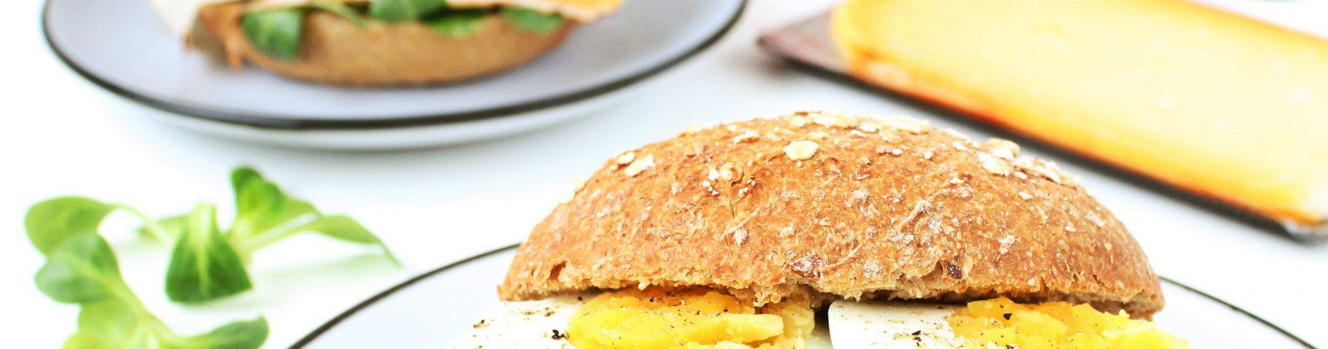 Ontbijt / lunch | broodje gezond met Solight kaas