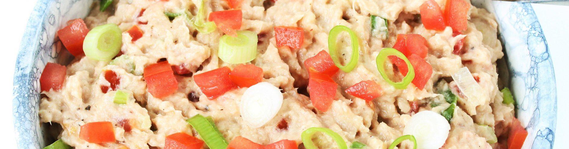 Makreelsalade voor op brood of toast