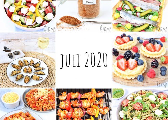 Blog maand juli 2020