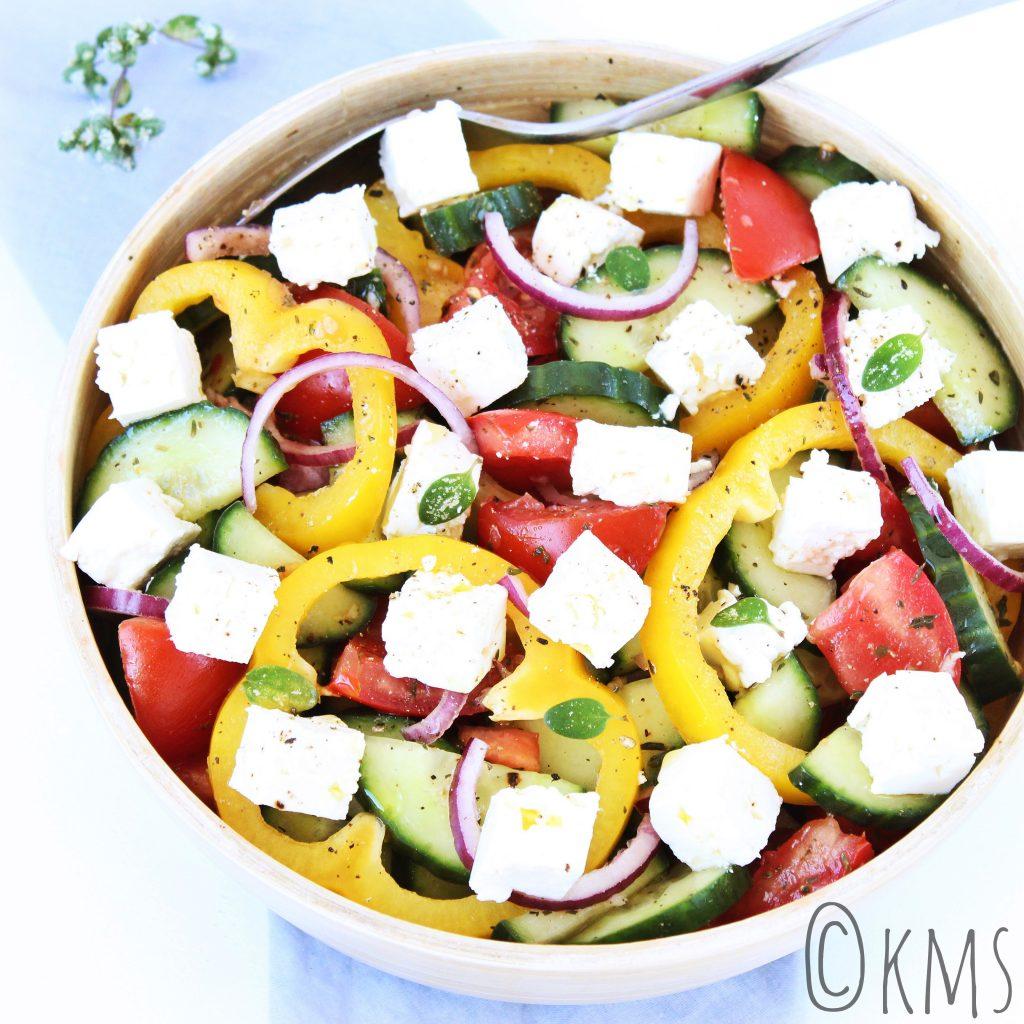 Choriatiki; Griekse boeren salade