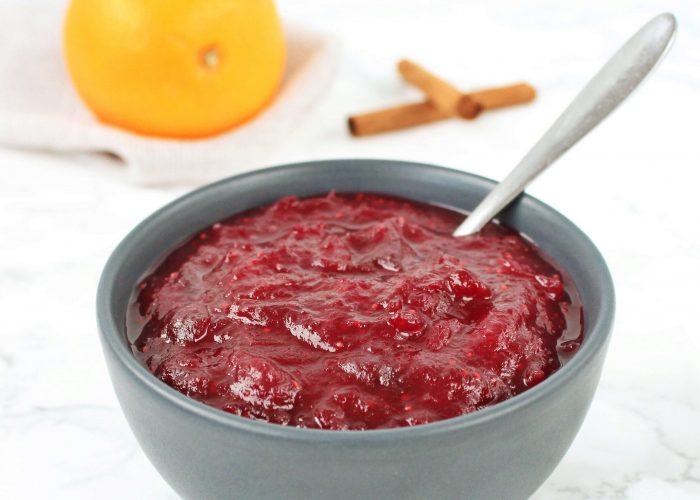 Zelf cranberry compote maken