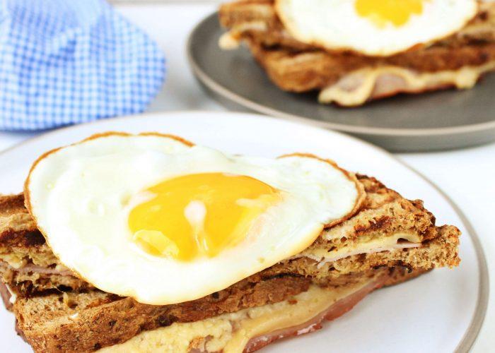 Croque madame - tosti met spiegelei
